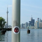 GHAOS Sticker Action, Toronto, Canada